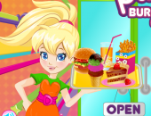 Polly Pocket Serveuse de Fast-Food