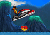 Crash Bandicoot Jet-ski