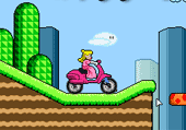 Princesse Peach en Scooter
