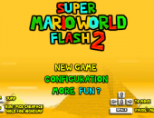 Super mario word Flash 2
