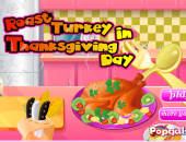 cuisine : dinde de thanksgiving