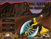 Tower defence : the canyon