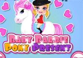 Le Poney de bébé barbie
