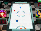 sport : Air Hockey