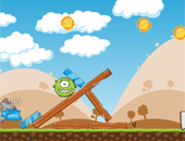 Angry Birds contre les Aliens