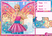 Puzzle Barbie Fairy