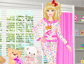 Pyjama Party avec Barbie