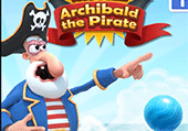 Bubble shooter : Archibald le pirate