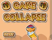 Cake Collapse : équilibriste