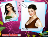 Beauty makeover : Anne Hathaway