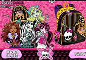 Créer son sac à dos Monster High