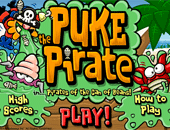 le jeu de Puke le  pirate