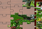 Puzzle photos de jardins