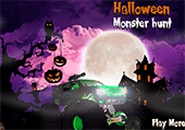 Halloween monster hunt