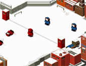 Bataille de boules de neiges :snow fight