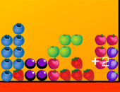 Tetris : Version avec des fruits