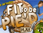 Jeu Tartes ç la crème : Fit to be Pie'd