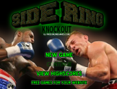 Boxe : side ring knockout