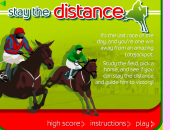 Stay the distance : course de chevaux