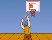 Hot Shots : jeu de basketball