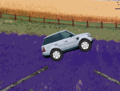 Jeep racer : course d'obstacle