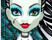 Fille Coiffeuse chez les Monster High