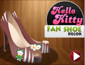 fille : chaussure Hello Kitty