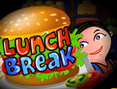 Lunch Break : jeu de serveuse
