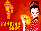 Handfan shop : magasin d'éventails