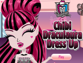 coiffure à Monster High