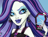 fille coiffeuse à Monster High