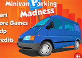 Parking pour minivan