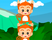 Monkey stack , jeu d'adress excellent