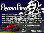 Sprint Flash : jeu de formule1