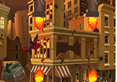 Flappy bird version spiderman