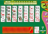 Solitaire golf !