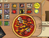 serveuse de pizza