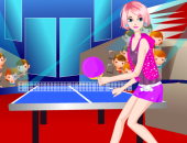 fille : le ping-pong