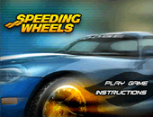Course en 3D isométrique : speeding wheels