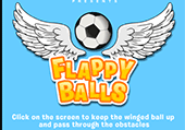Flappy ball: flappy birds version foot