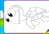 Coloriages de tortues