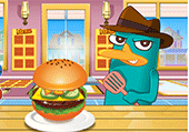Hamburger avec Perry