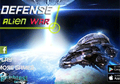 Alien tower defense war