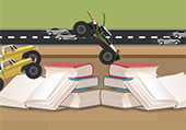 Mini buggy mode course